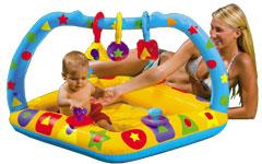 57401 Детский игровой центр Intex надувной бассейн Погремушки