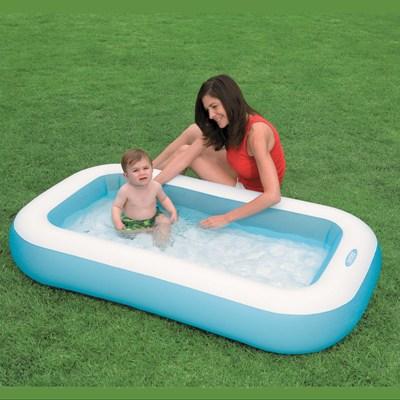 57403 Детский надувной бассейн Intex прямоугольный