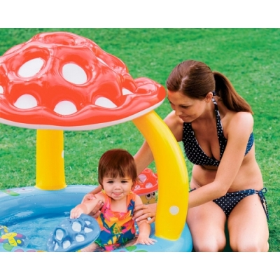 57407 Детский надувной бассейн Intex «Грибок»