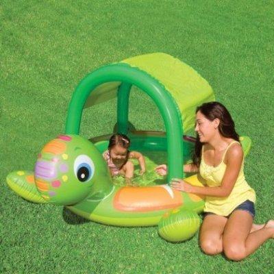 57410 Детский надувной бассейн Intex «Черепаха»
