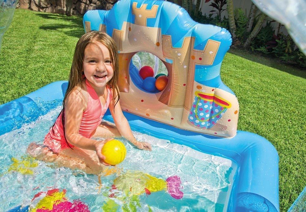 57421 Детский игровой центр Пляж Intex 170х150х81см, 0,079м3