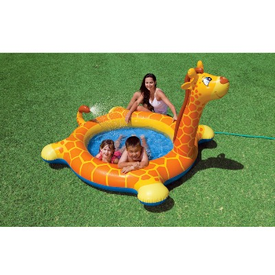 57434 Детский надувной бассейн Intex «Брызгающийся