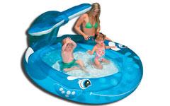 57435 Детский надувной бассейн Intex «Брызгающаяся