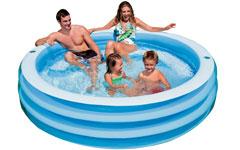 57481 Надувной бассейн детский Intex 57481 басс
