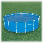 58173 Bestway Обогревающее покрывало Solar Cover для каркасных бассейнов диаметром 549 см