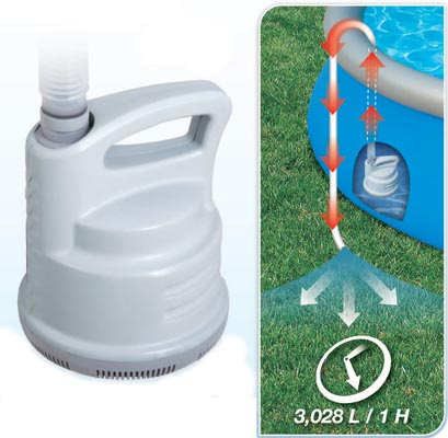 58230 Дренажный насос Bestway для слива воды из бассейна