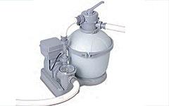 58286 Песчаный фильтр-насос 4542 л/час с функцией озонирования BestWay 58286