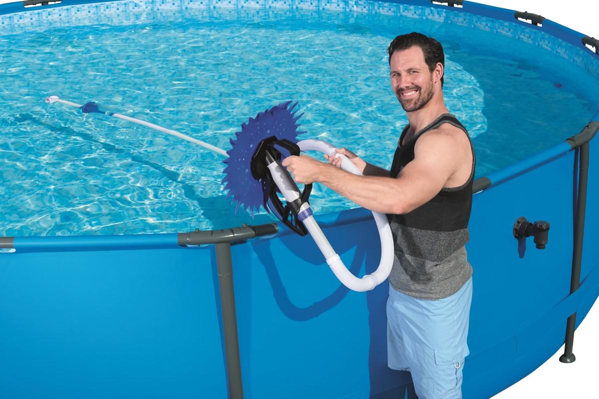 58339 Автоматический вакуумный очиститель AquaDip BestWay