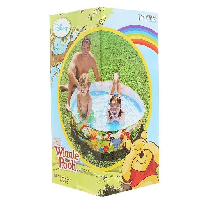 58475 Бассейн жесткий 122x25см Intex Disney Winnie the Pooh