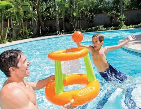 58504 Игровой надувной центр Плавающее Кольцо Intex, 67х55 см
