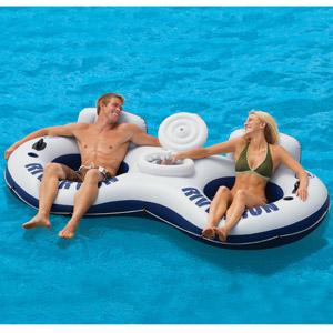 58827 Плавающий двухместный диван Intex с баром
