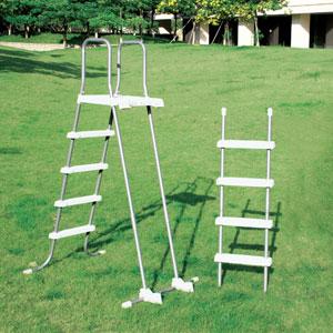 58971 Лестница со съёмными ступеньками Intex 122-132 см