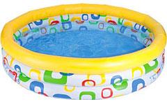 59419 Детский надувной бассейн Intex «Веселая геометрия»