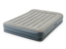 64118 Двухспальная надувная кровать 152х203х30см со встроенным насосом
