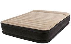 64404 Надувная кровать двуспальная с встроенным насосом Intex (152х203х33)