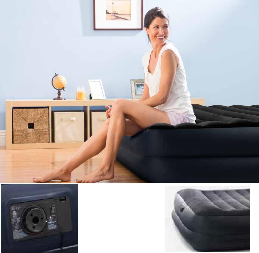 64424 Кровать Rising Comfort 152х203х42см с встр.насосом 220 В