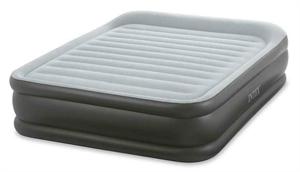 64436 Кровать Deluxe Pillow 152х203х42см с встр.насосом 220 В