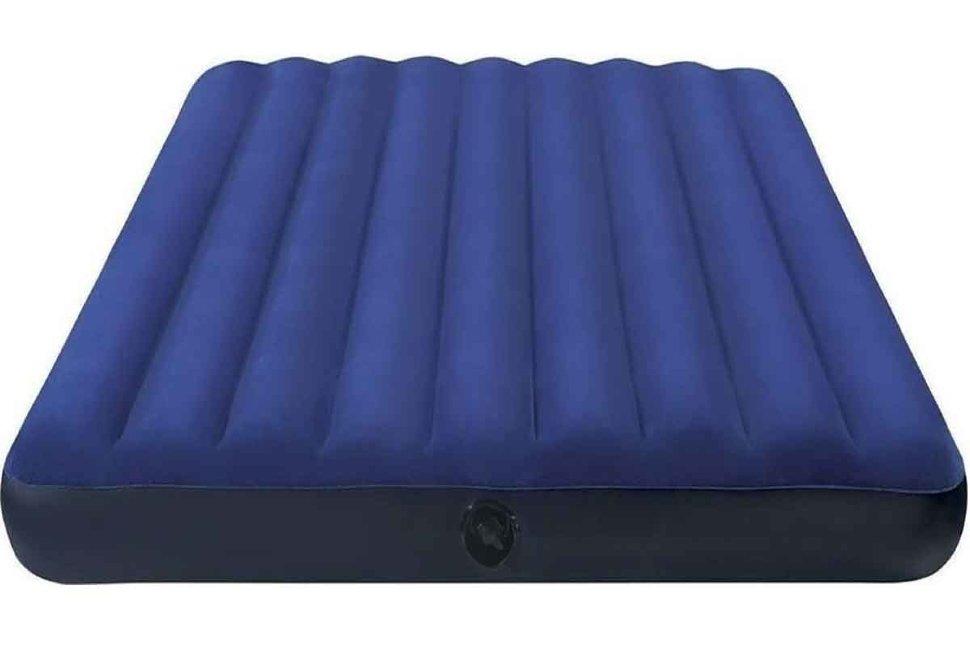 Матрас надувной Classic Downy Fiber-Tech 152х203x25 см, 64759
