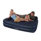 66702 Надувная кровать двуспальная с встроенным насосом Intex ( 152х203х42)