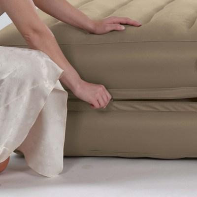 66750 Надувная кровать две односпальные в одной Intex (99х191х46)
