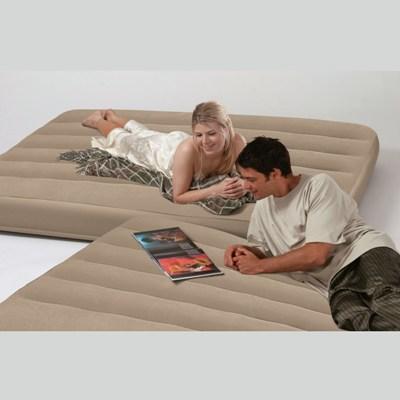 66754 Надувной матрас - кровати две двуспальные в одной Intex (152х203х46)