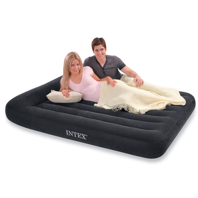 66770 Надувной матрас Intex Pillow Rest Classic (203x183x23)