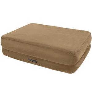 66956 Надувная кровать Intex Foam Top, со встроенным электронасосом 220В (203x152x56)