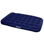 67225 Bestway Надувной матрас Easy Inflate Flocked Air Bed(Double) 191х137х28 см, встроенный ножной насос