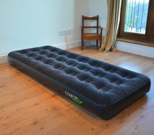 67379 Bestway Надувной матрас Comfort Green Flocked Air Bed(Single) 185х76х22 см
