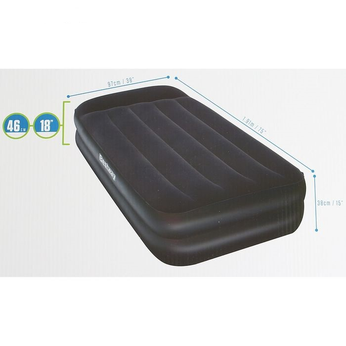 67381 Кровать Bestway 191х97х46см, электро-насос в комплекте