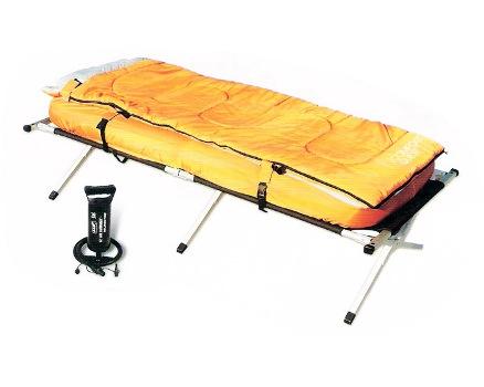 67383 Каркасная кровать BestWay с тентом 2-in-1 Fold'n Rest