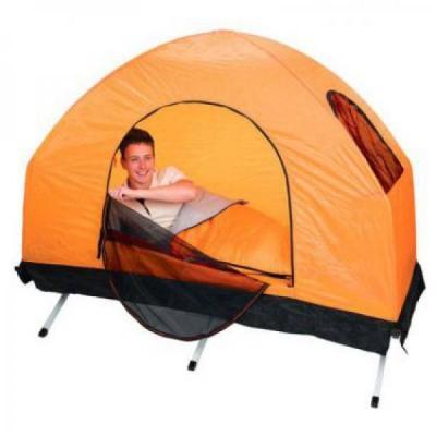 67385 Каркасная кровать BestWay с тентом 4-in-1 Fold'n Rest