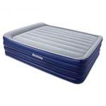 67528 Bestway Надувная кровать NightRight Raised Air Bed(Queen) 203х152х56 см со встроенным насосом