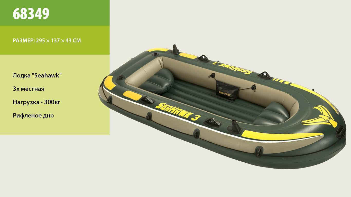 надувная лодка с мотором до 300 кг