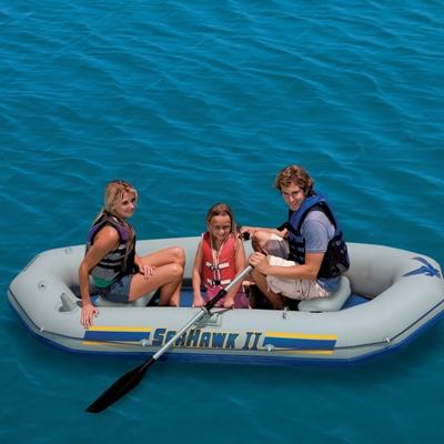 68377 Надувная лодка Intex Seahawk II Set