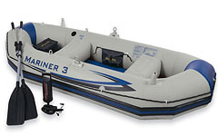 68378 �������� ����� Intex MARINER 3 BOAT SET