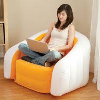 68571 Надувное кресло Intex 91х102х65см