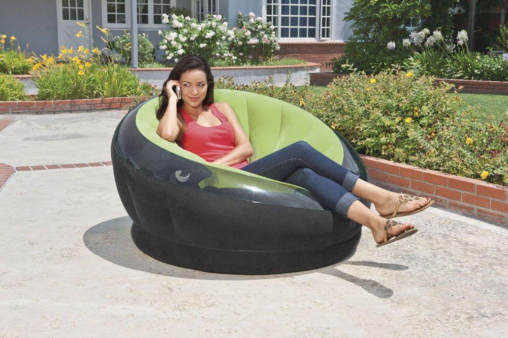 68581 Надувное кресло Intex Empire Chair, 112 х 109 х 69 см.