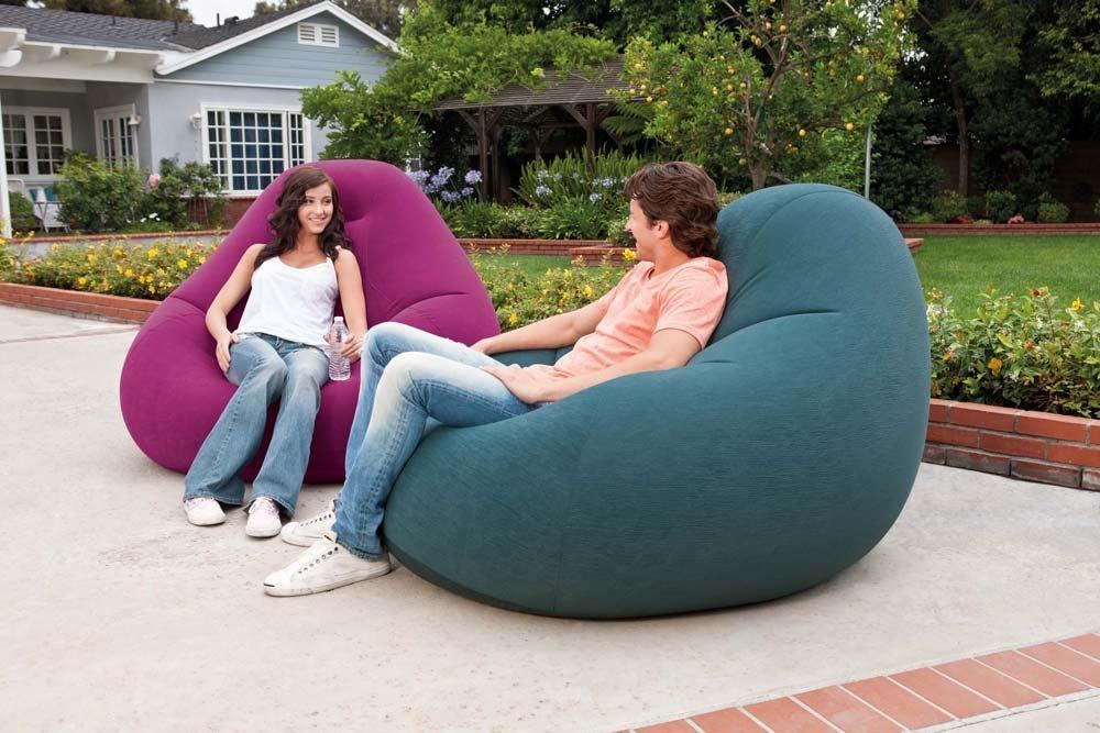 68583 Надувное кресло Deluxe Intex, 122 х 127 х 81 см