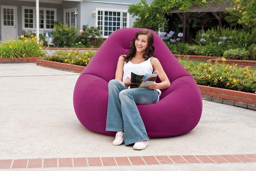 68584 Надувное кресло Deluxe Intex, 122 х 127 х 81 см