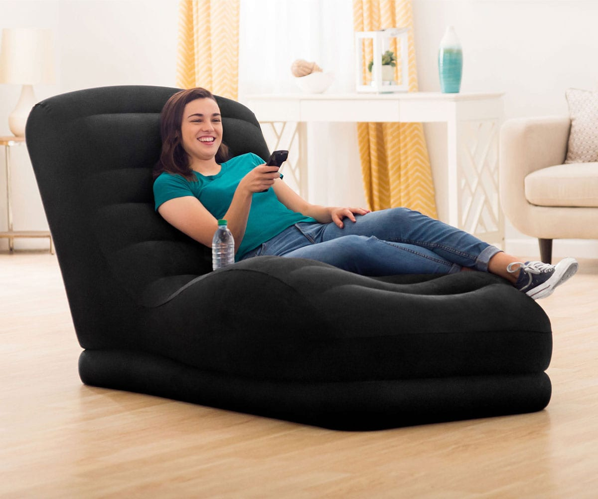 68595 Надувное кресло Intex Mega Lounge (без насоса)