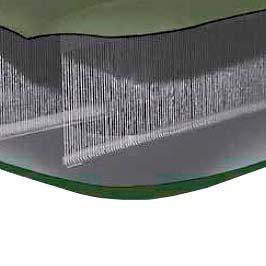 68711 Надувной матрас Односпальный Intex (76x191x15) с насосом
