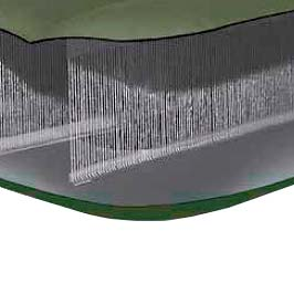 68726 Надувной матрас Односпальный Intex (99x191x20) с насосом