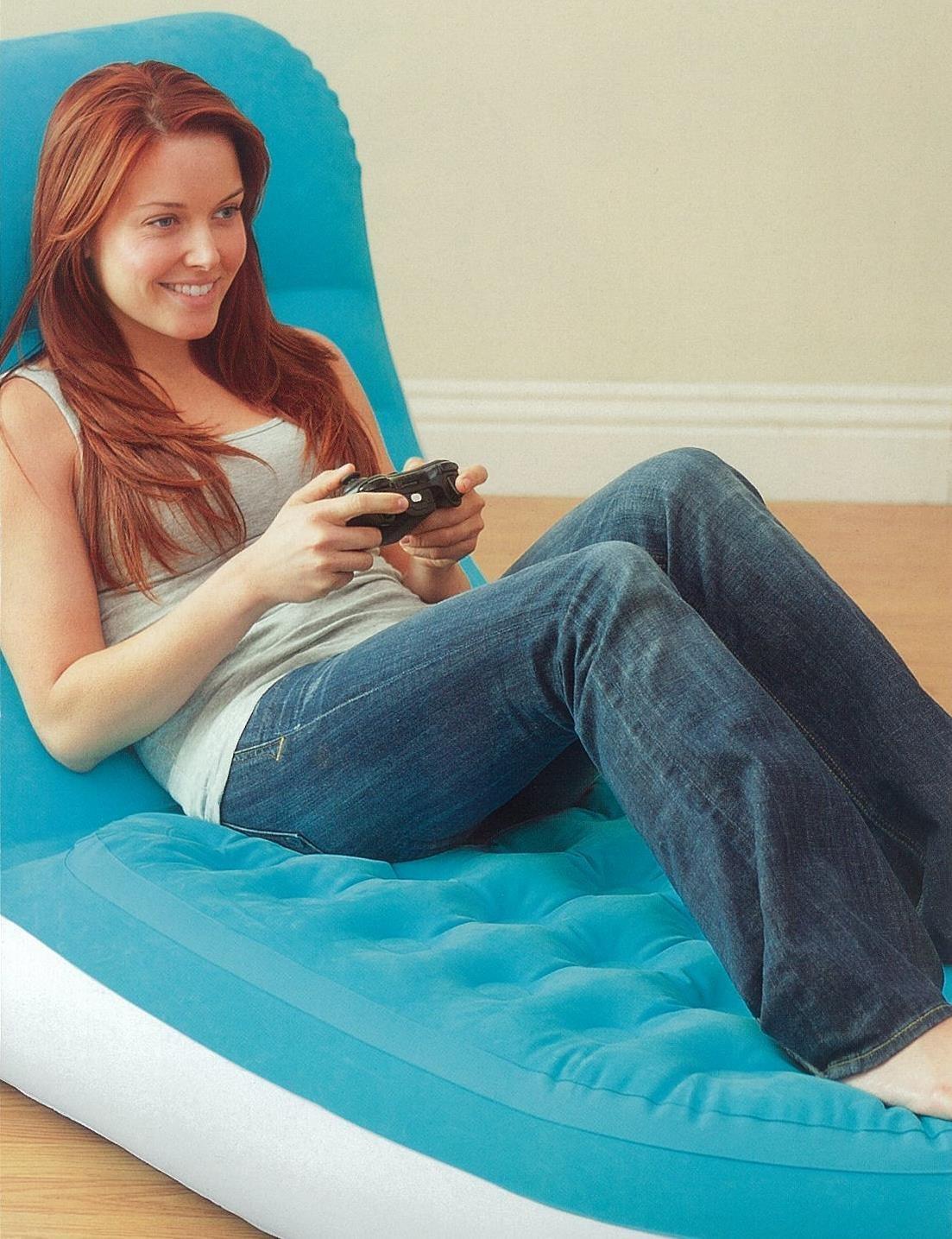 68880 Надувное кресло Splash Lounge Intex 68563, 84 x 170 x 81 см.