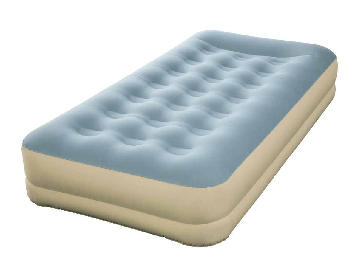 69001 Надувная кровать Refined Fortech Bestway 191х97х33см, встроенный электронасос