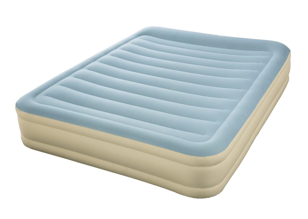 69007 Надувная кровать Essence Fortech Bestway 203х152х36см, встроенный электронасос