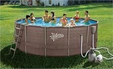 P20-1452-S Каркасный бассейн круглый 427х132см SummerEscapes