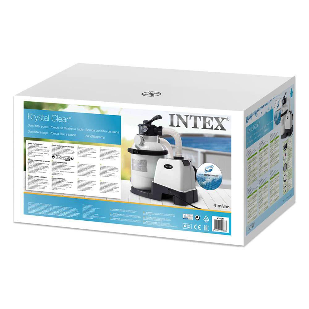 26644/28644 Фильтр-насос для бассейна Intex, песчаный 4000 л/ч (28644)