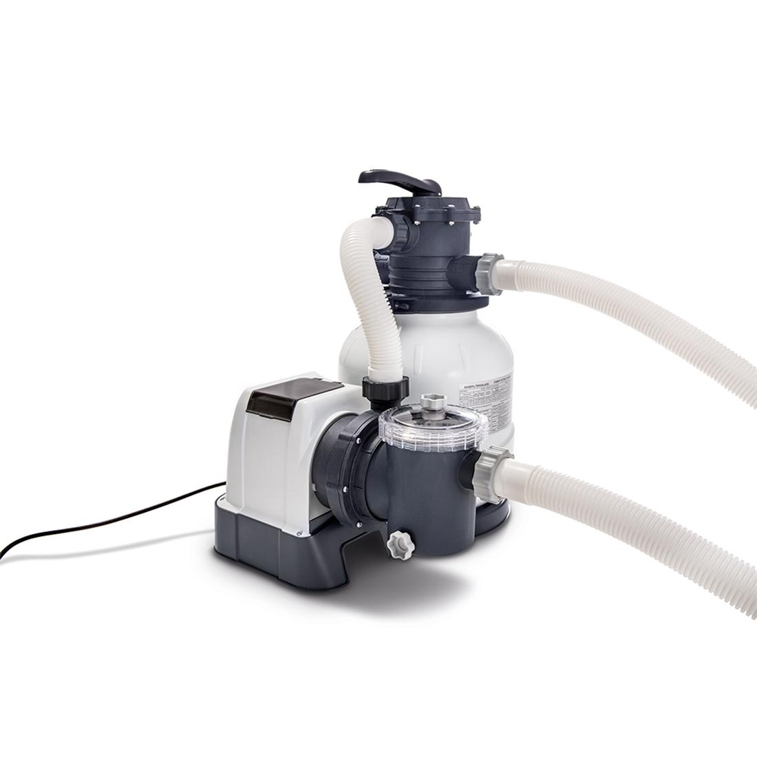 26646 Фильтр-насос для бассейна Intex, песчаный 6000 л/ч (28646)