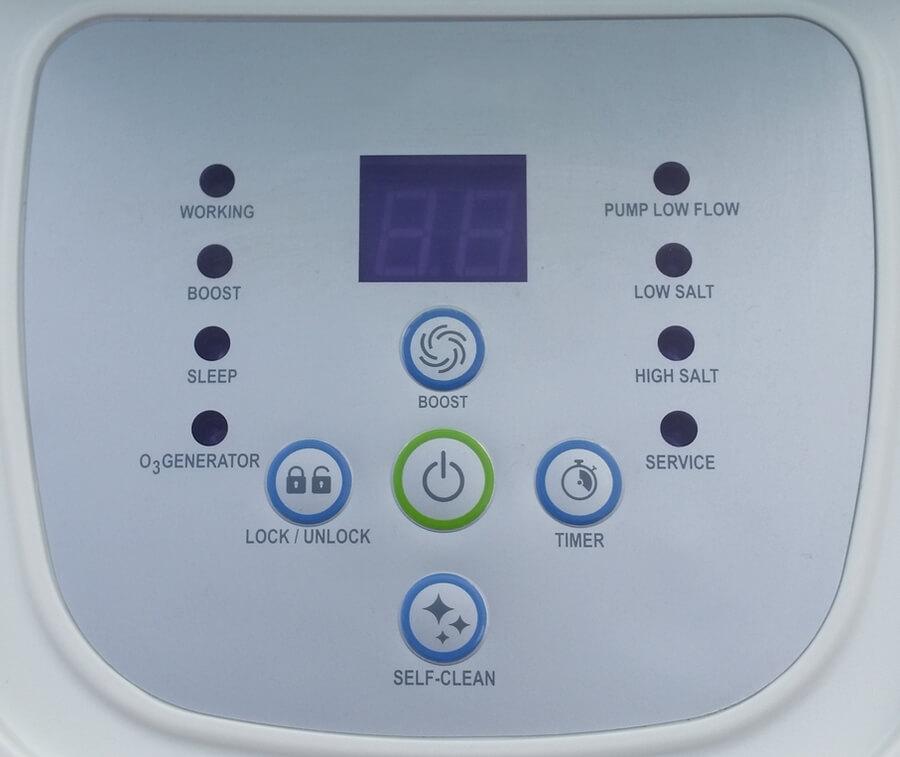 26666 Хлорогенератор-озонатор для бассейнов, Intex объемом до 56800 литров